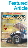 <h2>New Directions</h2>RISE OF THE AUTONOMOUS GOLF CAR